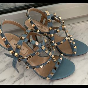 Valentino Garavni caged rock stud heels